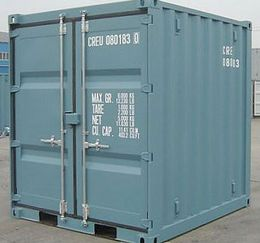 New 8' High Cube Container