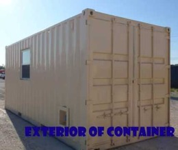 Office Type of Container Conversion
