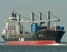 Grey Fox Container Ship