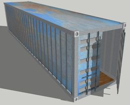 Long 40 or 53 foot Shipping Container