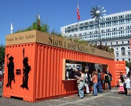 Slow Food Nation Container